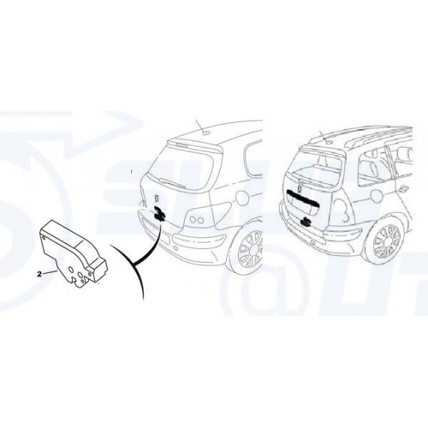 moteur de coffre pour Peugeot 206 SW / c3 / c5 / xsara