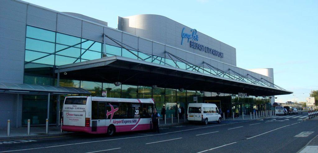 Belfast City Airport frontage