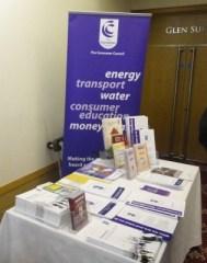 NI Consumer Council stand at DUP conference