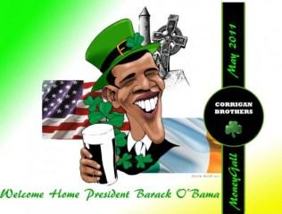 Corrigan Brothers / Obama Moneygall image