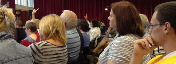 West Belfast Talks Back audience questioners