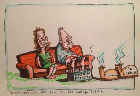 Cartoon - A hard weekend photo
