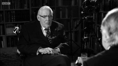 still from BBC eamonn mallie ian paisley interview