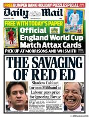 Daily Mail 24 May 2014