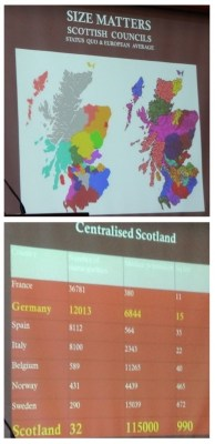 scotland councils centralised