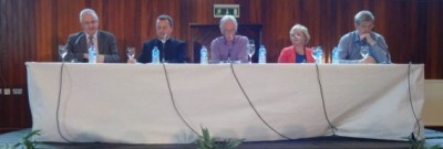 West Belfast Talks Back 2014 panel