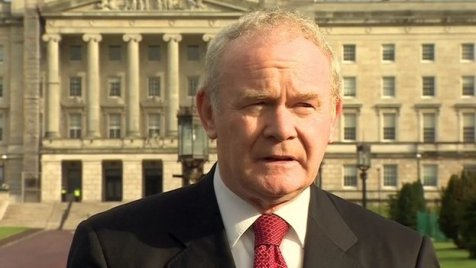 "Martin McGuinness: ""I believe Maíria Cahill was raped"""