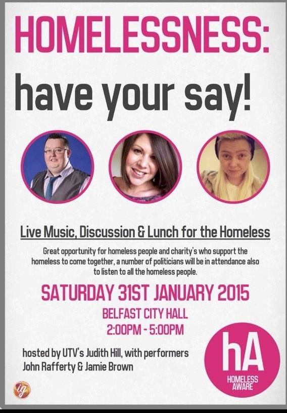 Have Your Say Homeless