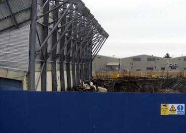 Windsor West Stand hole