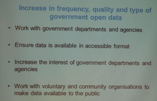 Improving gov open data