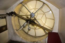 Inside the early modern clock at Bath Abbey. Photo (C), Marc Vila Terra.