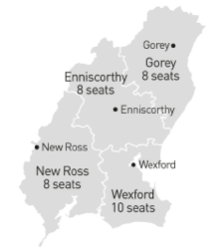 Wexford Local Authority seats