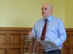 Peter Osborne flag report launch