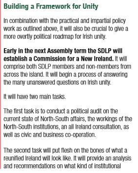 SDLP Manifesto Unity
