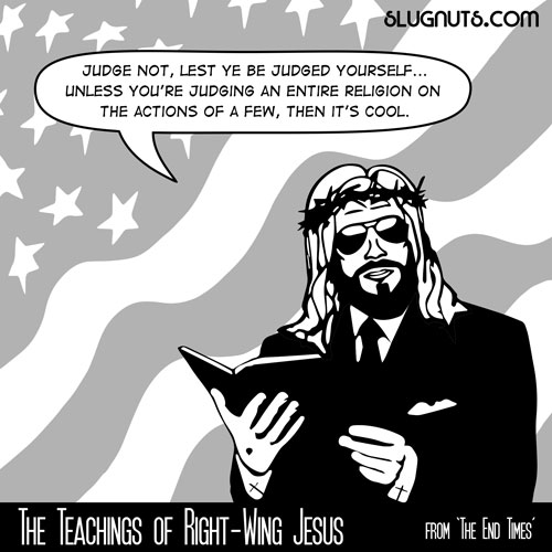 The Teachings of Right-Wing Jesus #5