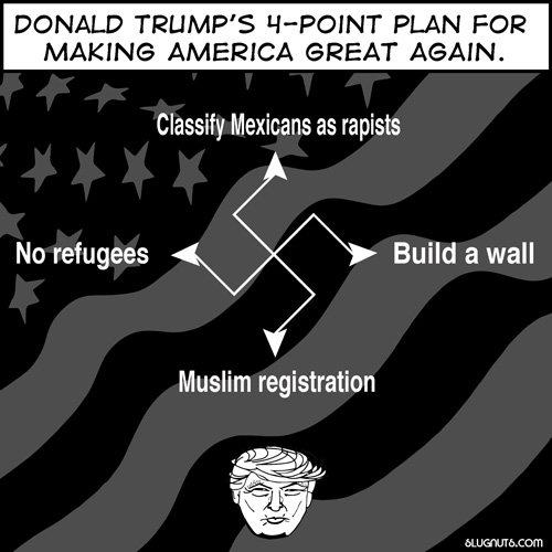 Trump's 4-Point Plan