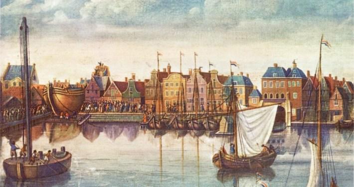 dam van Zaandam 1717