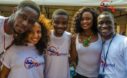 Slum2School Volunteers