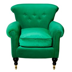 Emerald Green Velvet Chair Swivel Bar Chairs With Arms Pantone Colour Of The Year  Slummy Single