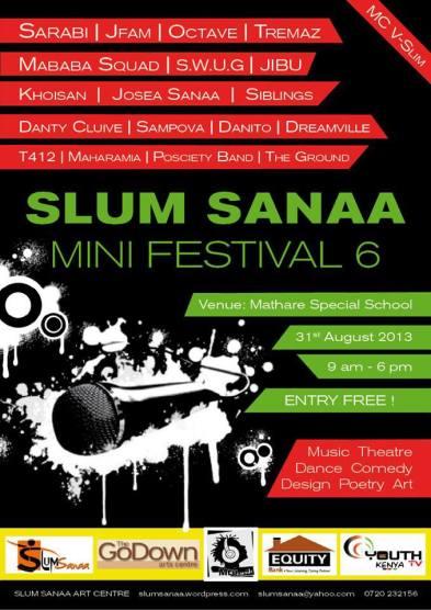 Slum Sanaa Festival