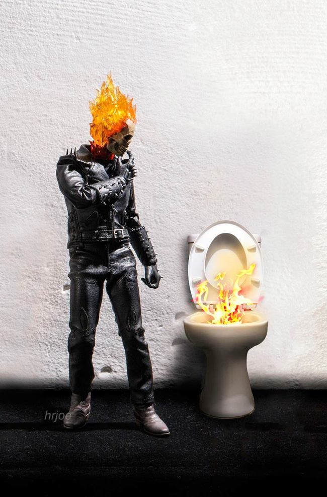 ghost rider everyday problems