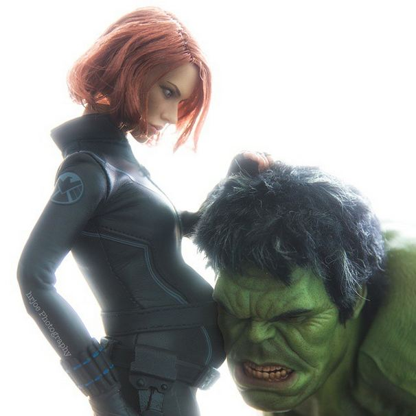 incredible hulk black widow