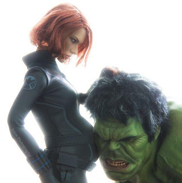 incredible hulk black widow