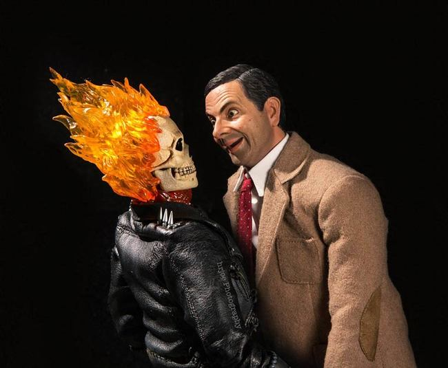 mr bean ghost rider
