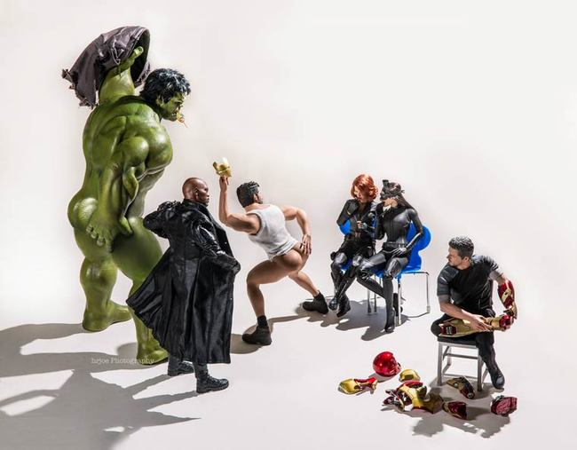 photography toys avengers