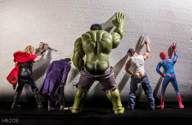 toys photography avengers