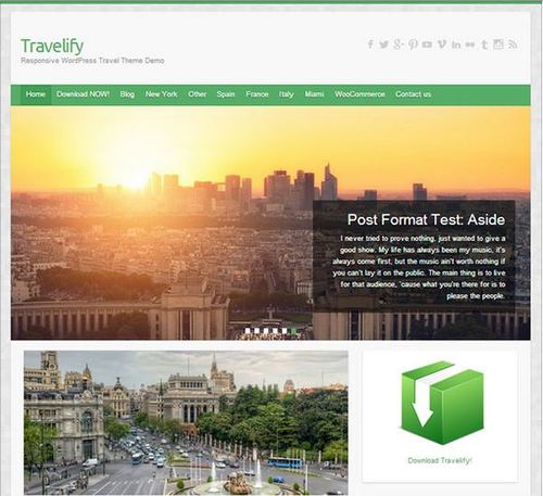 travelify theme for photographers march 2015