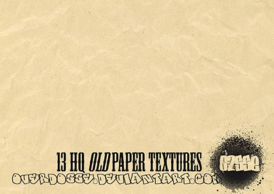 13 hq old paper textures