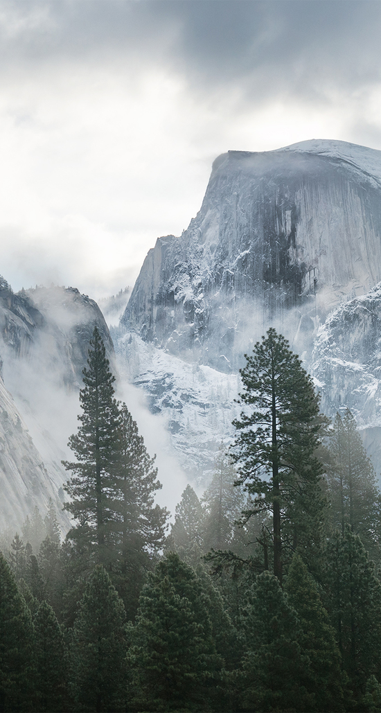 yosemite iphone 6 wallpapers parallax pack