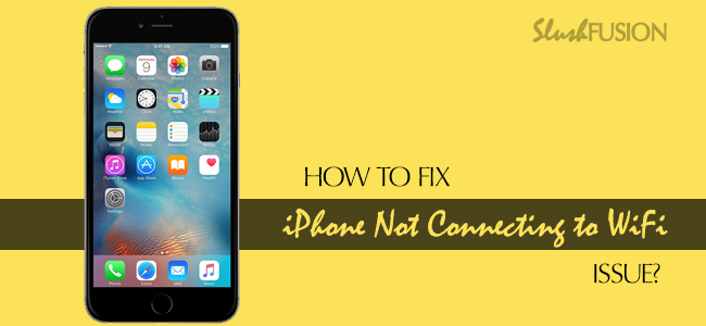 iphone not connecting to wifi fix