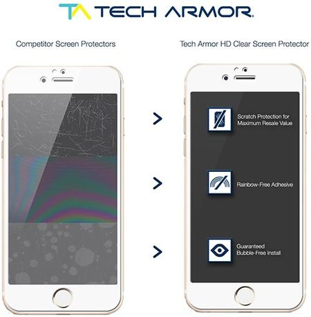 tech armor screen protector for iphone