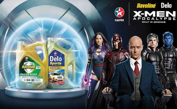 Caltex and X-Men