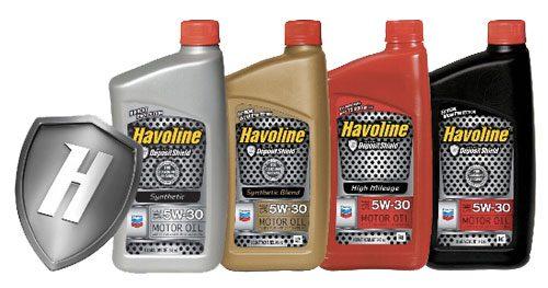 Havoline lubricants
