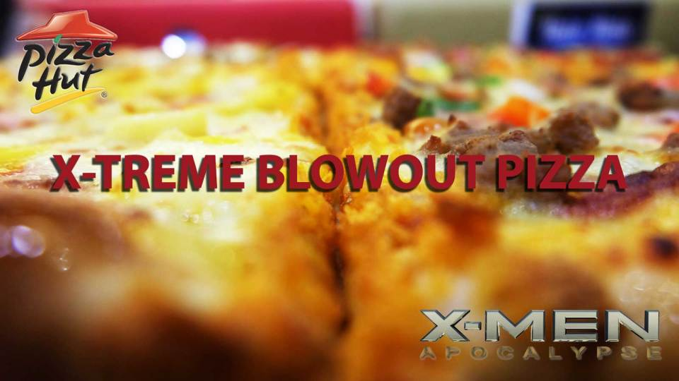 Xtreme blowout pizza