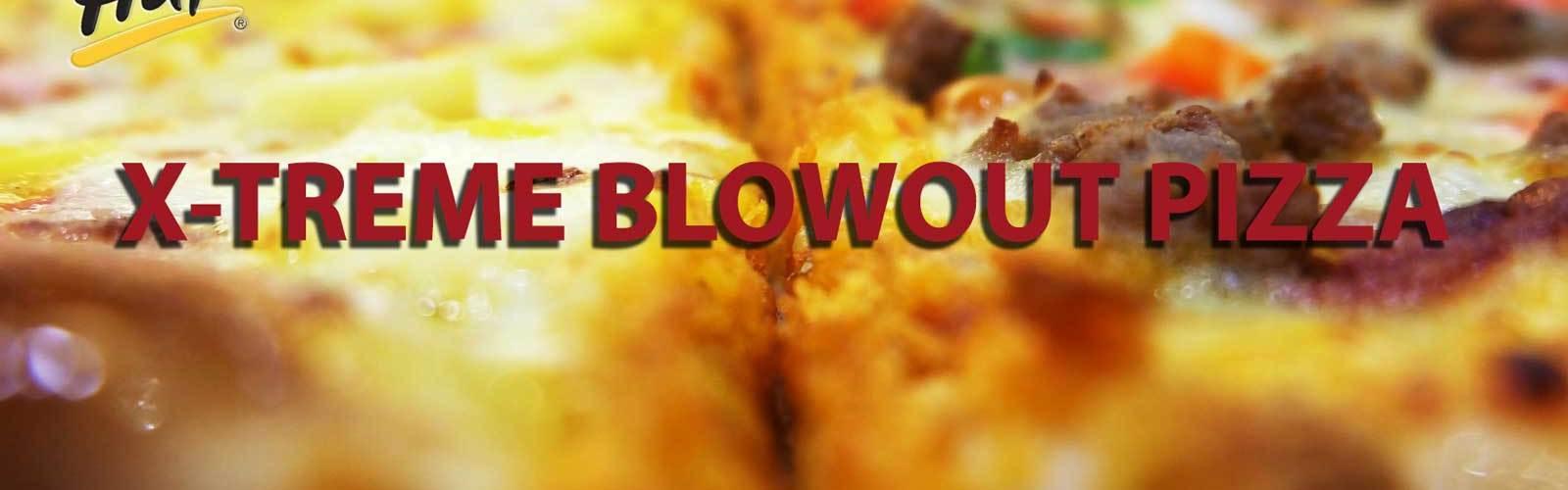 Xtreme blowout pizza