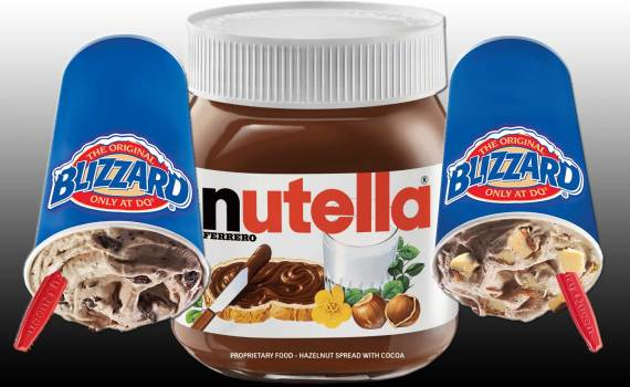 dairy queen nutella