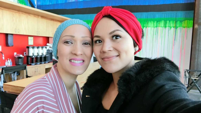 Abby Assistio and Rachel Regal