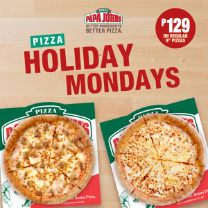 Pizza Holiday Mondays