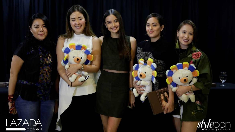Lazada Stylecon Panelists: Sassa Jimenez, Patty Ang, Kelsey Merritt, Bea Constantino, and Angela Yeo