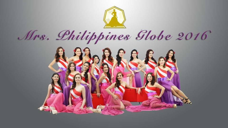 Mrs. Philippines Globe 2016 finalists