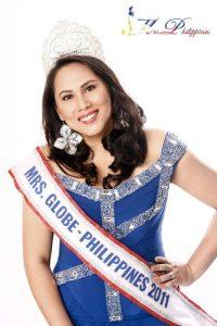 Carla Cabrera Quimpo, Mrs. Globe Philippines 2011.
