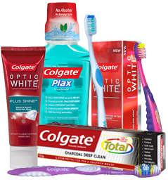 Colgate's oral care products