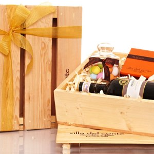 Villa del Conte Gift Crate for corporate partners and clients