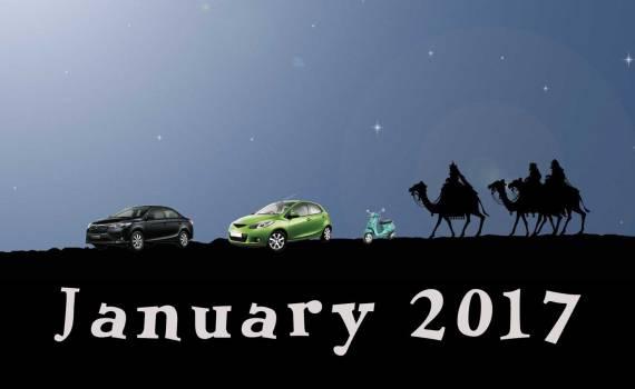 january 2017 ridesharing