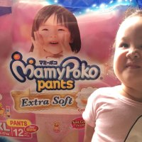 Our little Star loves Mamypoko pants for girls