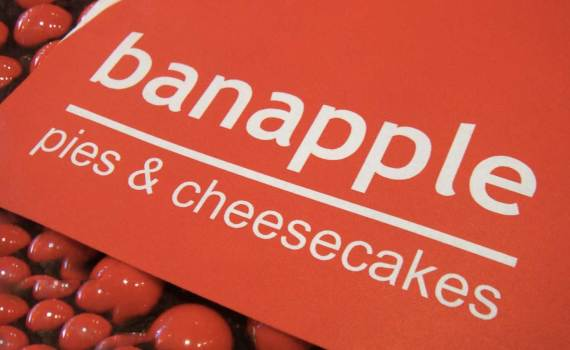 Bannaple pies and cheesecakes